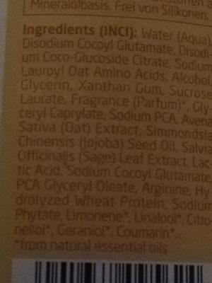Hafer Aufbaushampoo - Ingredients - de