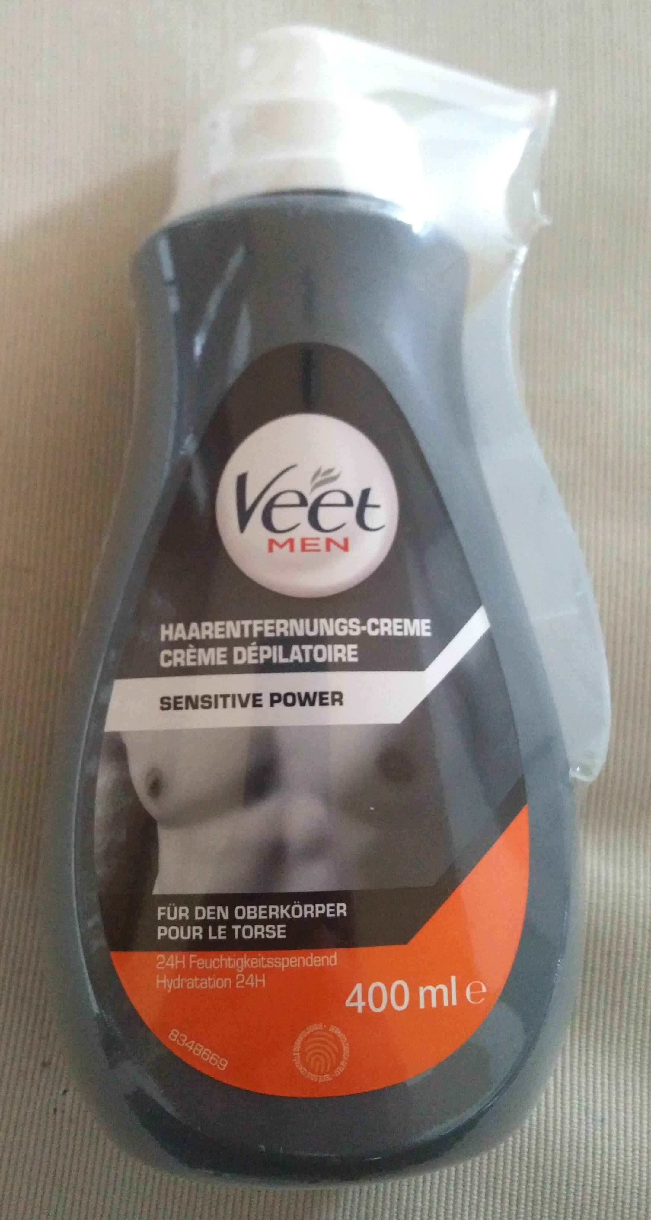Haarentfernungs-Creme Sensitive Power - Produit - de