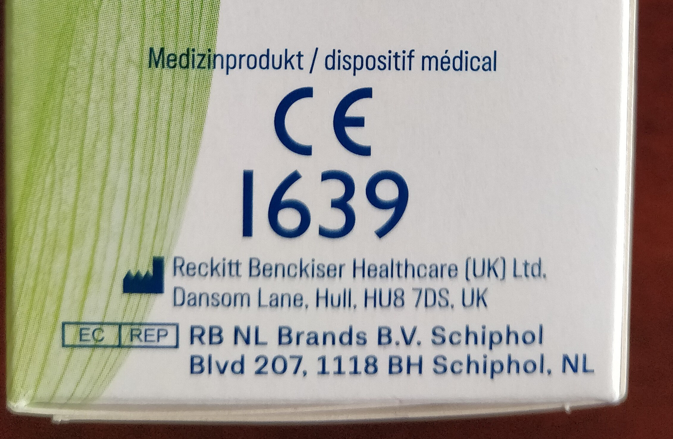 naturals Gleitgel - Product - en