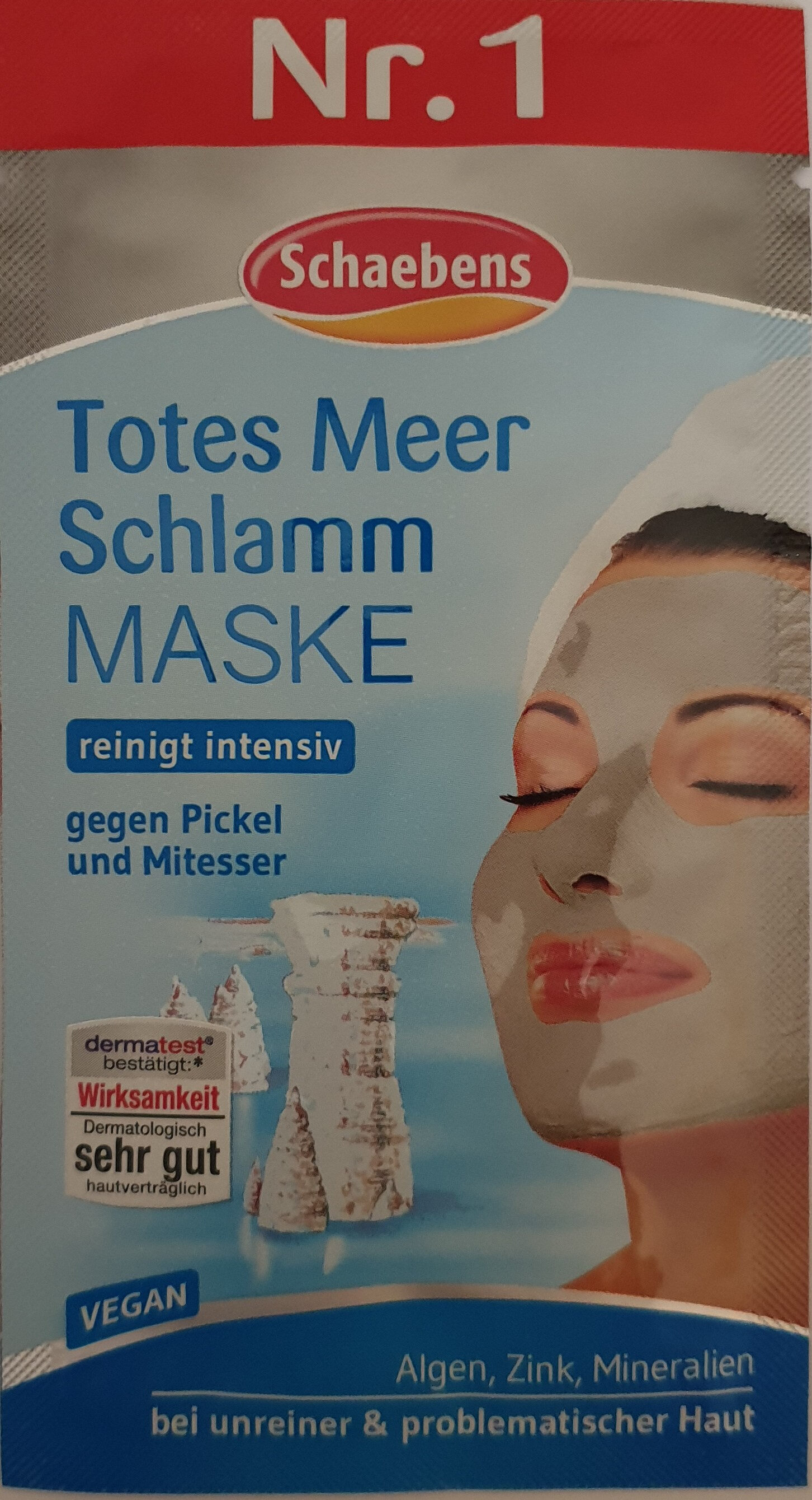 Totes Meer Schlamm Maske - Product - de
