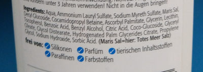 Totes Meer Wasch-Gel - Ingredients