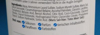 Totes Meer Wasch-Gel - Ingredients - de