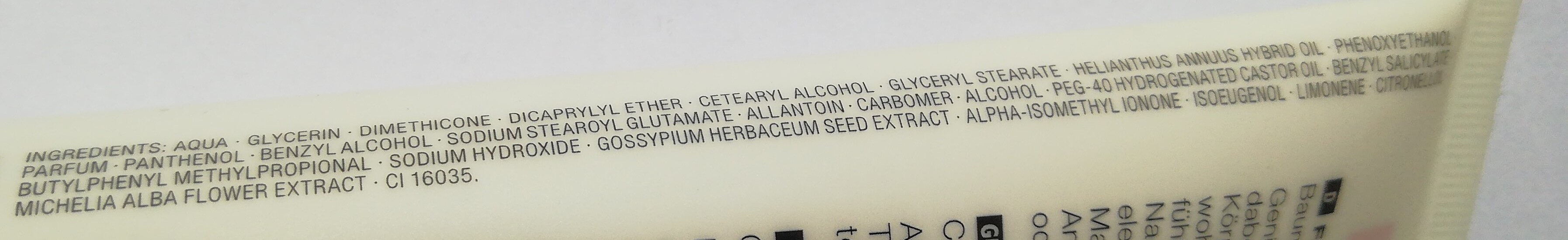 PURE Hydro Body Fluid Baumwolle & Weiße Magnolie - Ingredients - de