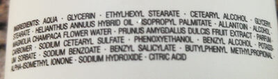 Hydro Body Lotion - Ingredients - de