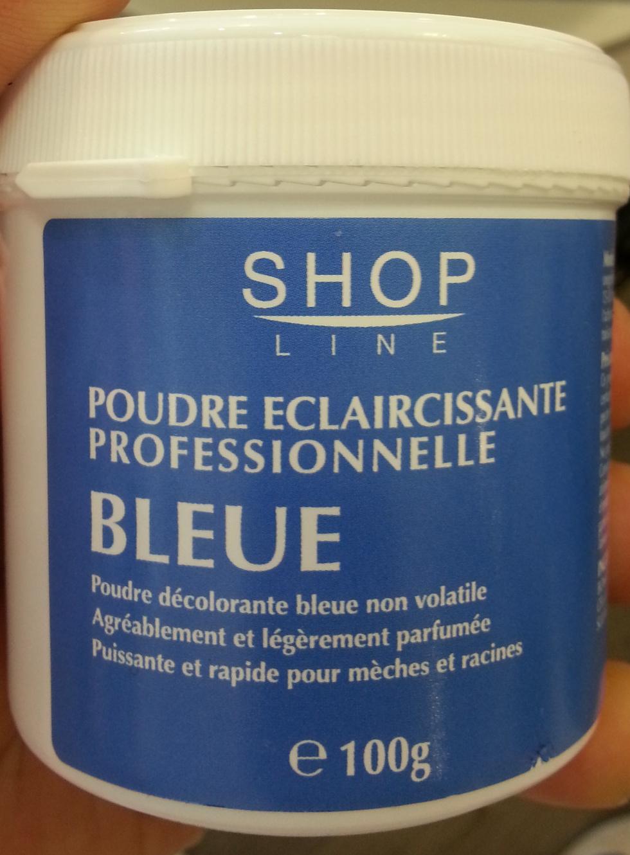 Poudre éclaircissante professionnelle bleue - Product