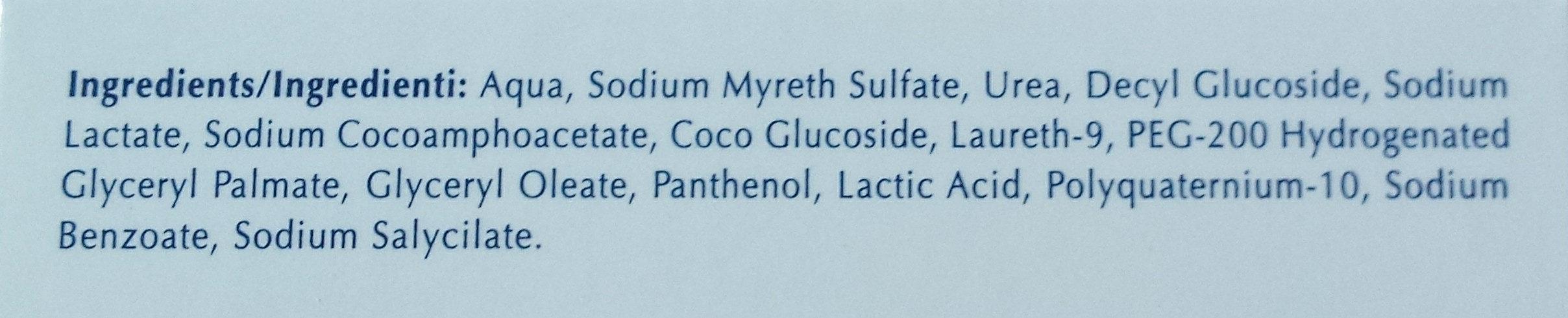 Dermo Capillaire - Ingredients
