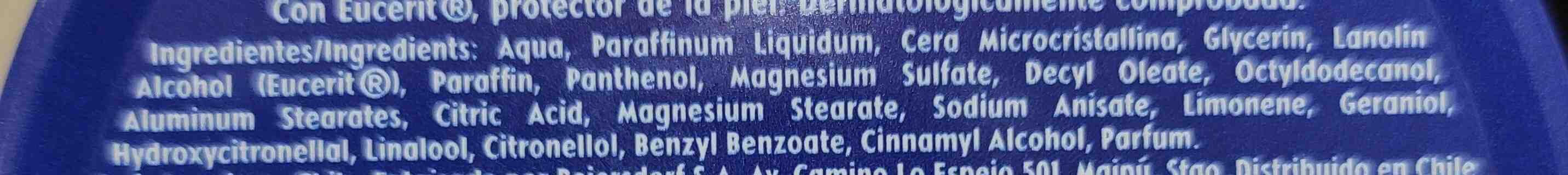 NIVEA Creme - Ingredients - en