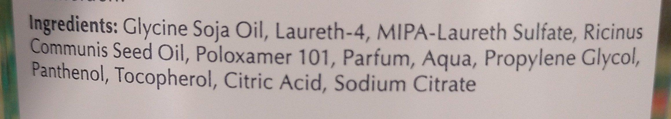 Eucerin pH5 Duschöl m.Pumpe empfindliche Haut - Ingredients - de