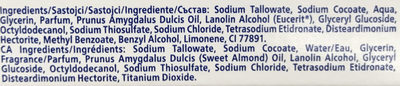 Creme Soft Savon Soin - Ingredients