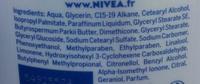 Lait hydratant Douceur peaux sèches - Ingredients