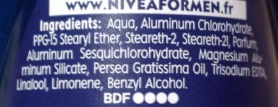 Dry Impact plus 48H - Ingredients