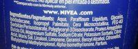 Crema corporal Milk Nutritiva - Ingrédients - es