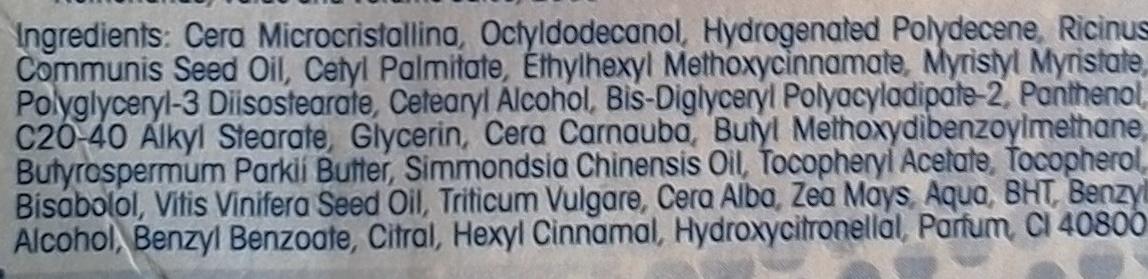 Med Protection - FPS 15 - SPF 15 - Ingredients