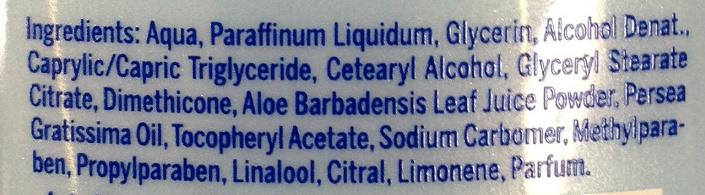 Apès-soleil hydratant - Ingredients - fr