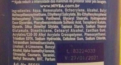 Nivea - Ingredients