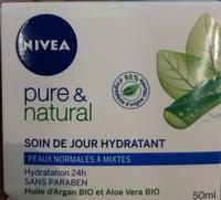 Pure & Natural Soin de jour hydratant - Produit - fr