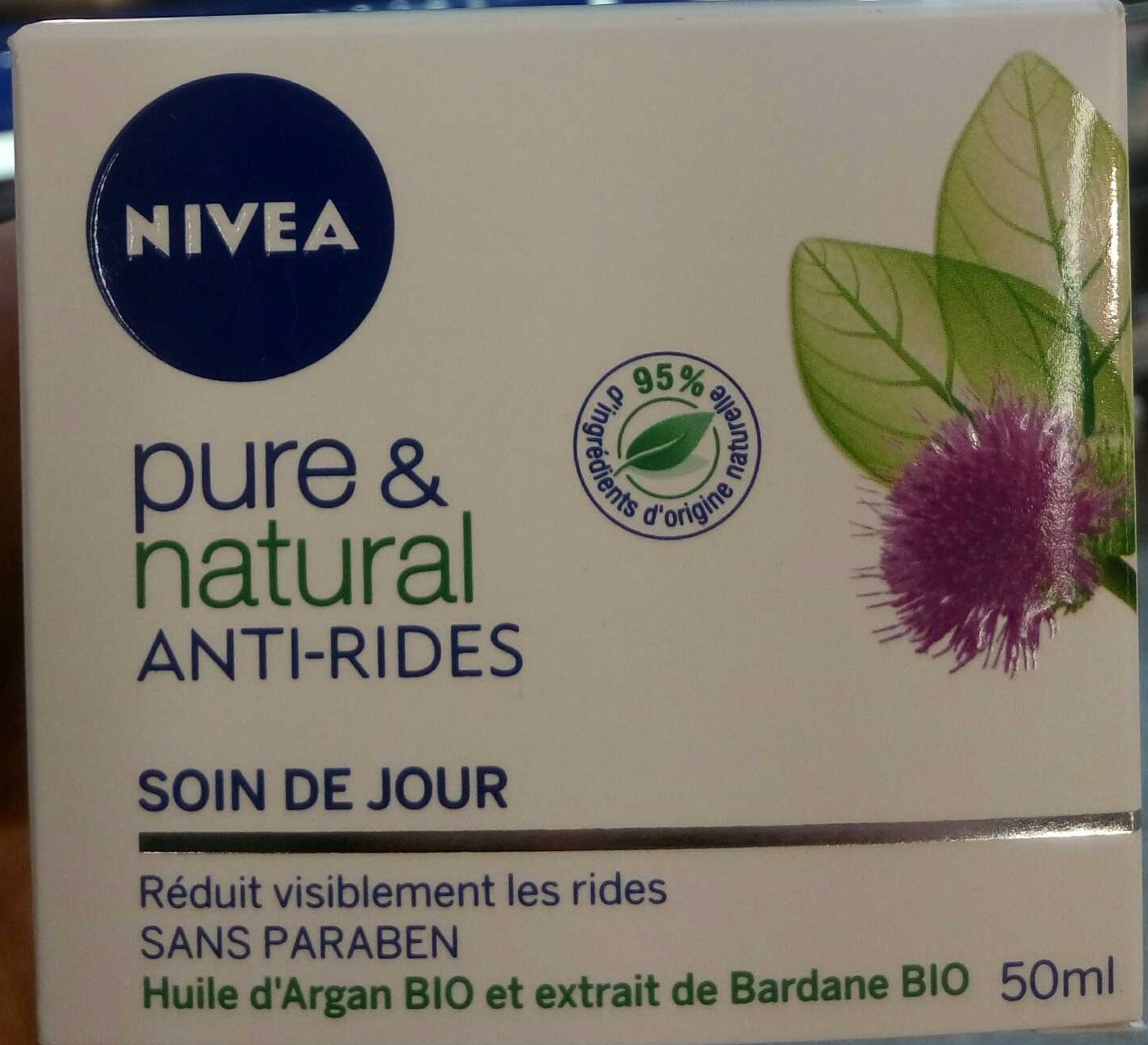 Pure & natural anti-rides Soin de jour - Product