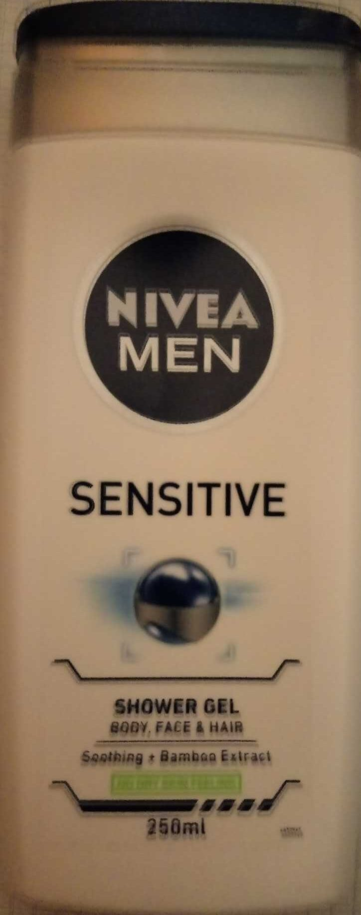 Sensitive Shower Gel Soothing + Bamboo Extract - Product - en