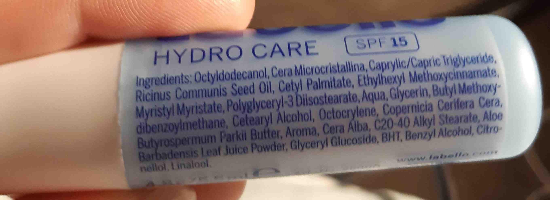 labello - Ingredients
