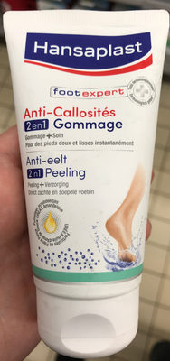 Foot Expert Anti-Callosités 2 en 1 Gommage - Produit