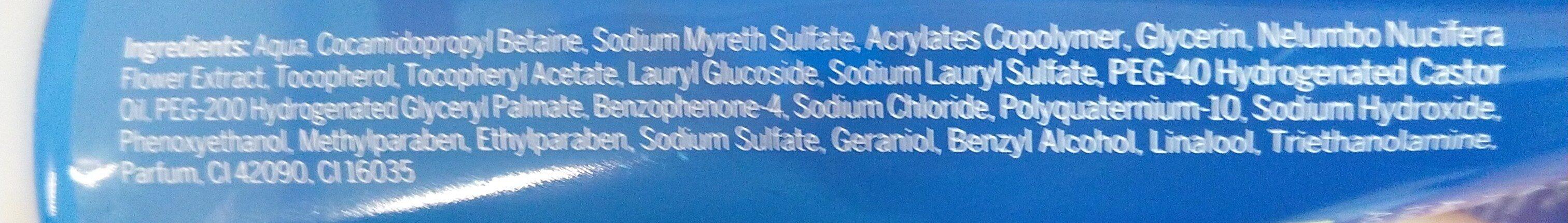 Nivea gel de limpeza - Ingredients - en