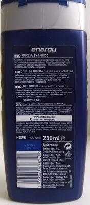 Nivea for men doccia gel energy - Product - en