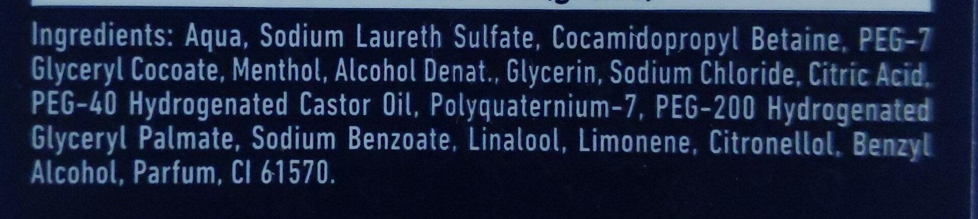 Nivea for men doccia gel energy - Ingredients - it