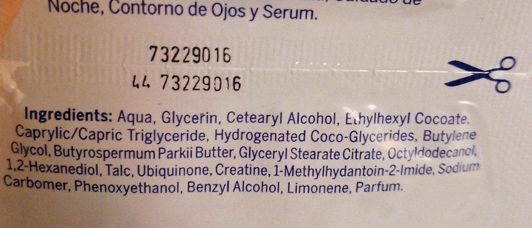 Nivea face mask - Ingredients - en