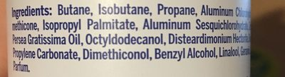 Nivea Deodorant Stress Protect For Woman Spray - Ingredients