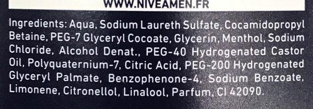 Réveil Express Fraîcheur 24H Agrumes - Ingredients