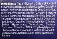 Cellular anti-âge - Ingredients