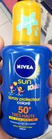 Spray protecteur coloré 50+ Sun Kids - Product