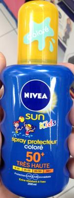 Spray protecteur coloré 50+ Sun Kids - Produit