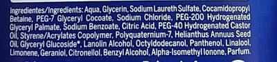 Creme care - Ingredients - es