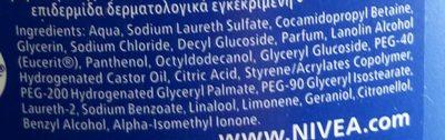 Creme Care - Ingredients