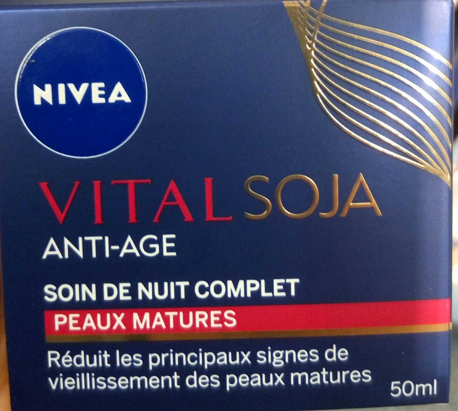 Vital Soja anti-âge soin de nuit complet - Produit
