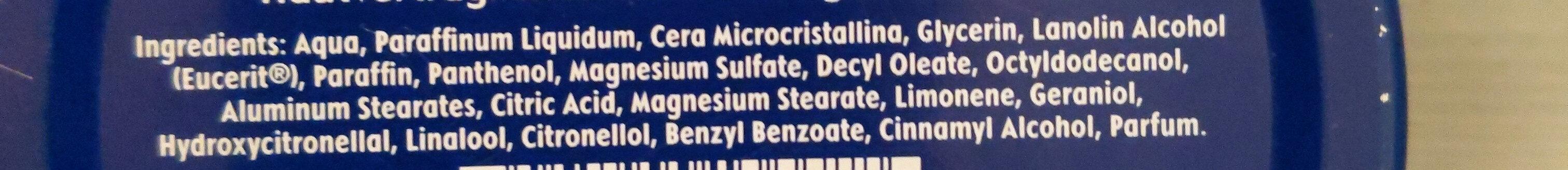 Nivea Creme - Ingredients - de