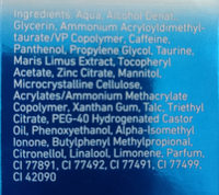Active Energy Wake-Up Sofort-Effekt Gel - Ingredients