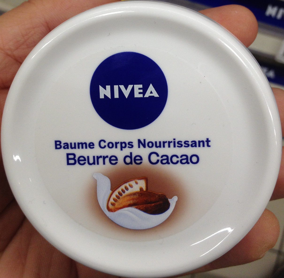 Baume corps nourrissant beurre de cacao - Product - fr