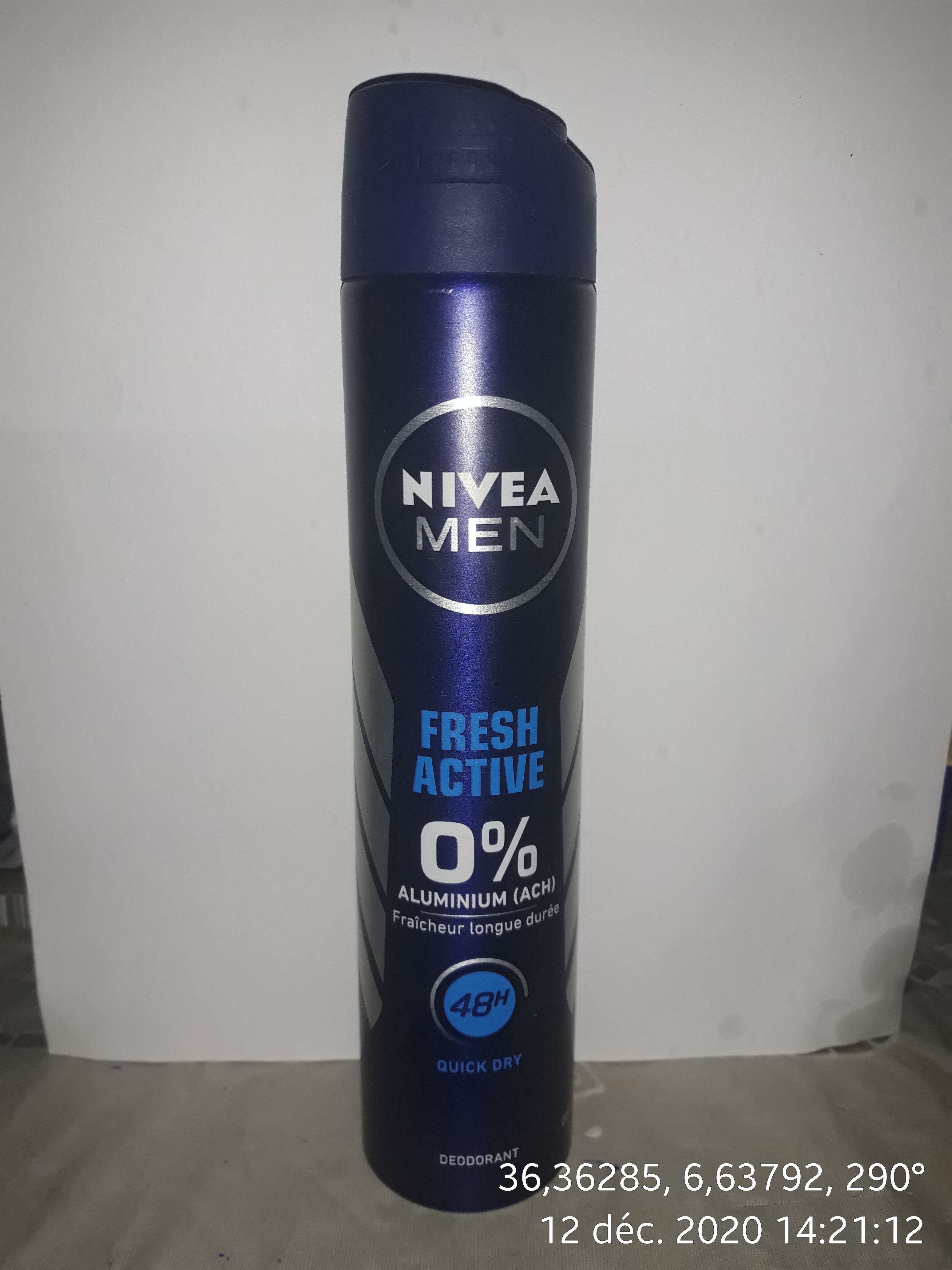 Nivea Men - Fresh Active - Product - de