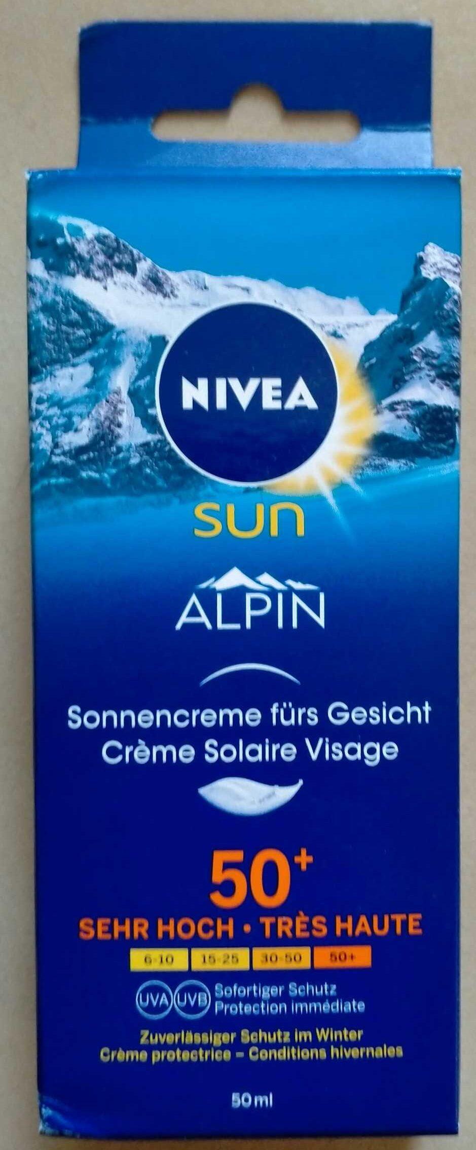 crème solaire visage nivea - Product - fr