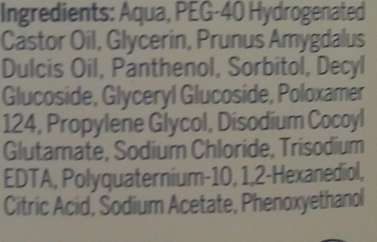 Nivea Eau Dem. micel. douc 400ML - Ingredients