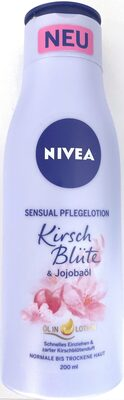Sensual Pflegelotion Kirsch Blüte - Product - de