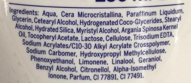 Lait corps sous la douche Eclat 2 en 1 - Ingredients - fr