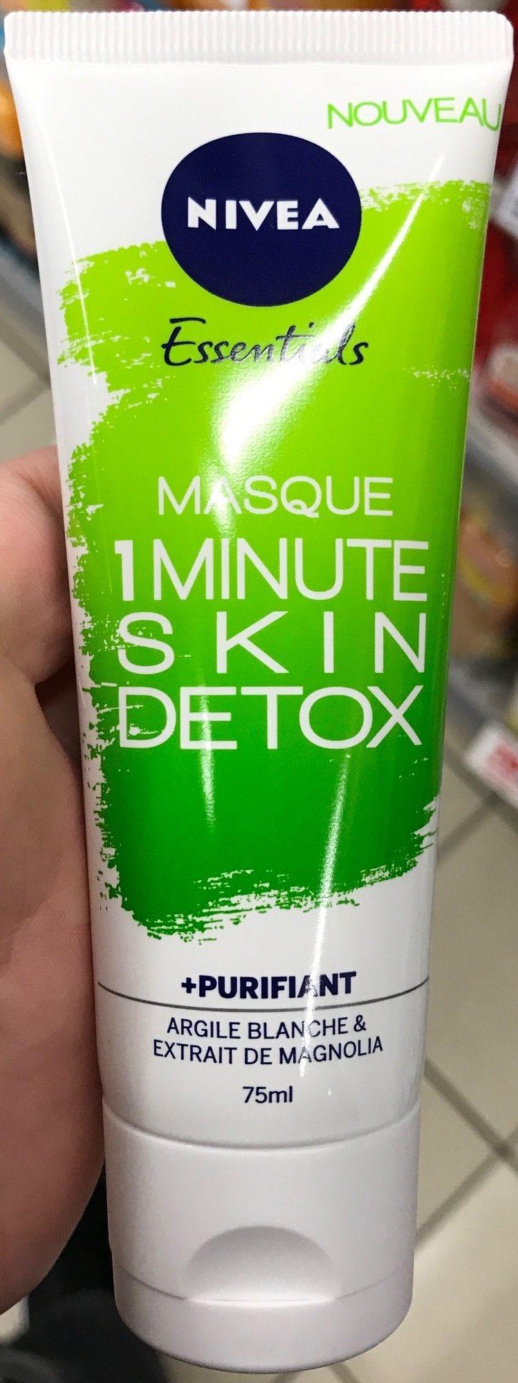 Essentials Masque 1 Minute Skin Detox + Purifiant - Product - fr