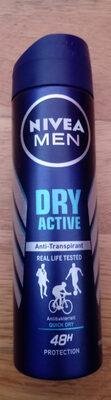 Dry Active Anti-Transpirant - Product