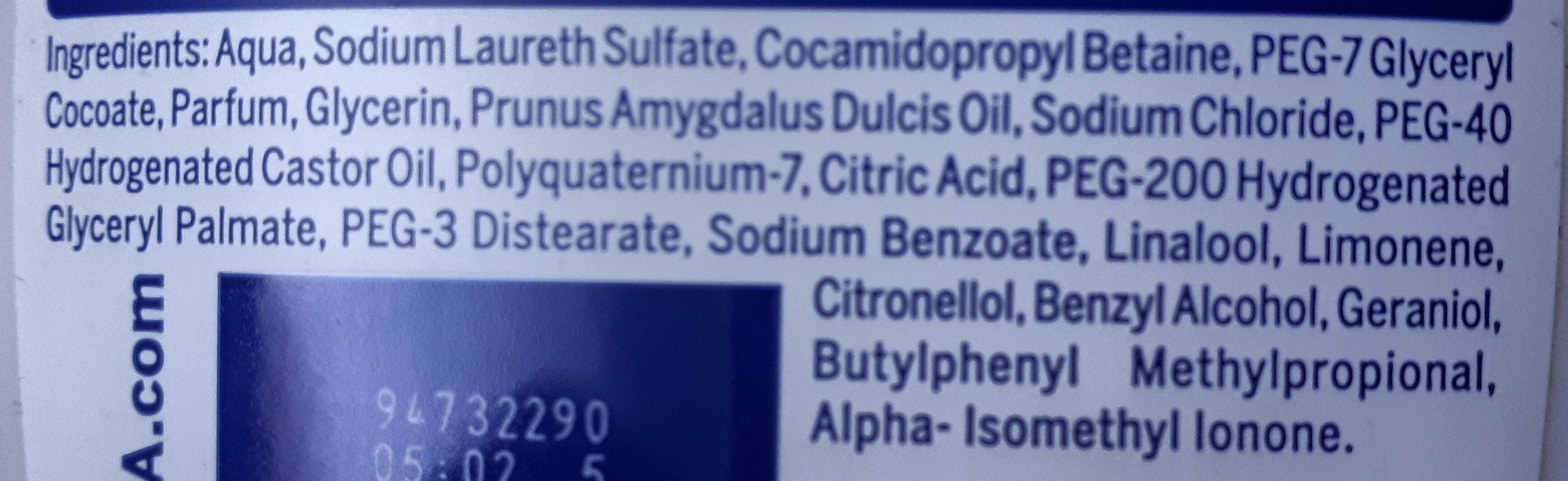 Pflegedusche creme soft - Ingredients - de