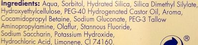 meridol - Ingredients - en