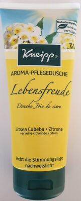 Aroma-Pflegedusche Lebensfreude, Litsea Cubeba, Zitrone - Product - de