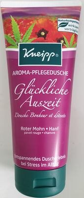 Aroma-Pflegedusche Glückliche Auszeit, Roter Mohn, Hanf - Product